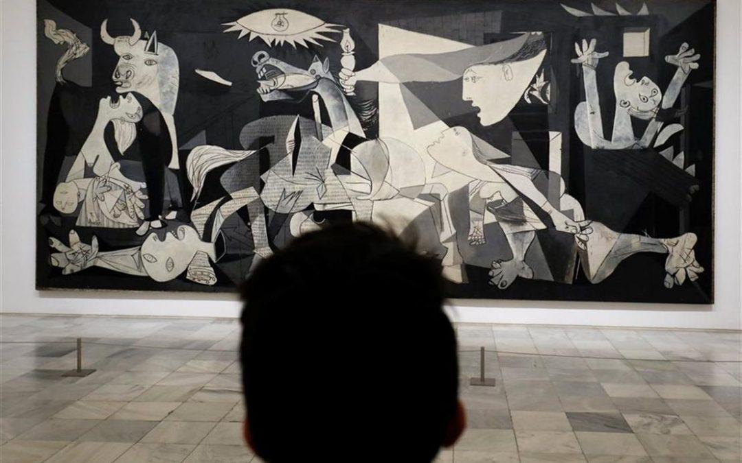 Muestra: Las raíces del Guernica, de Picasso,
