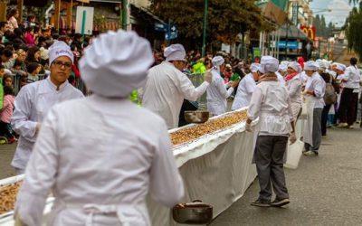 Bariloche – barra de chocolate más larga del mundo